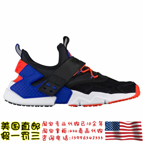 19年3月【美国代购】NIKE AIR HUARACHE DRIFT PREMIUM 男慢跑鞋